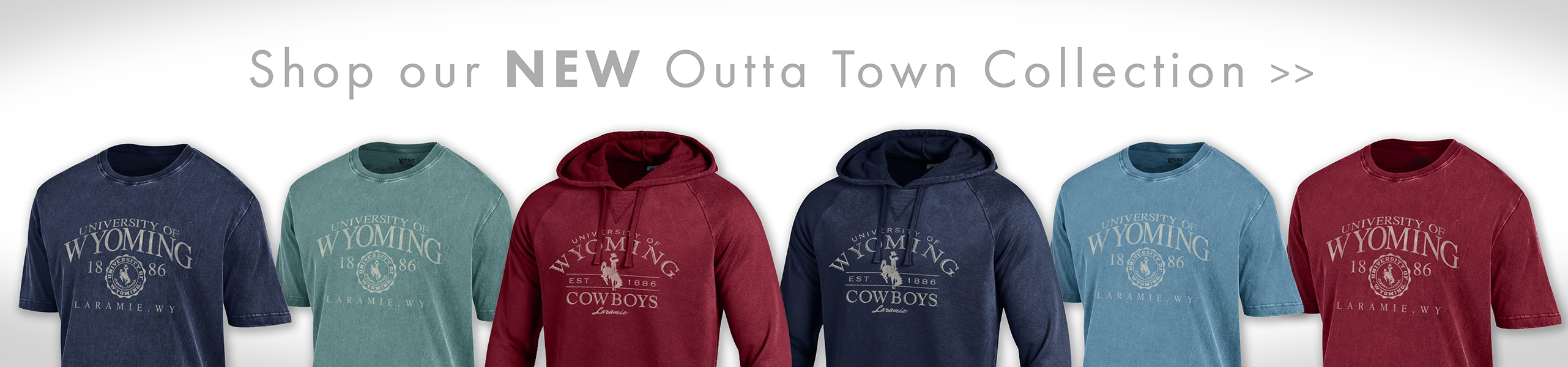 Shop the Outta Town Collection at the University Store!