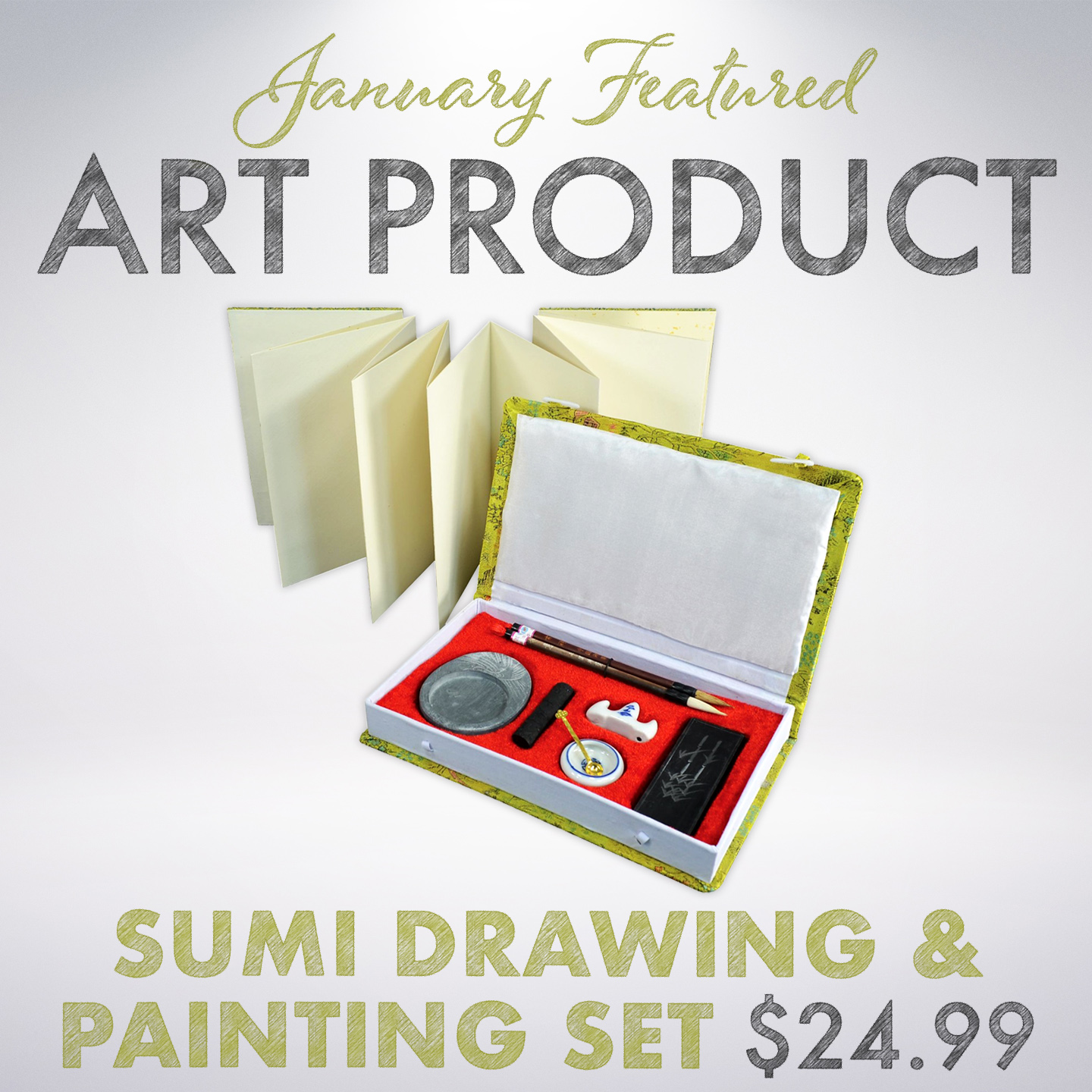 This month's art special is the Prismacolor Premiere 29 pc Coloring Kit!