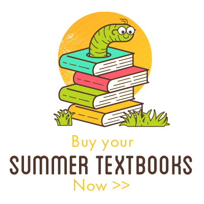 Order your summer textbooks today!