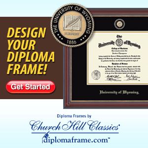 Order your diploma frame today!