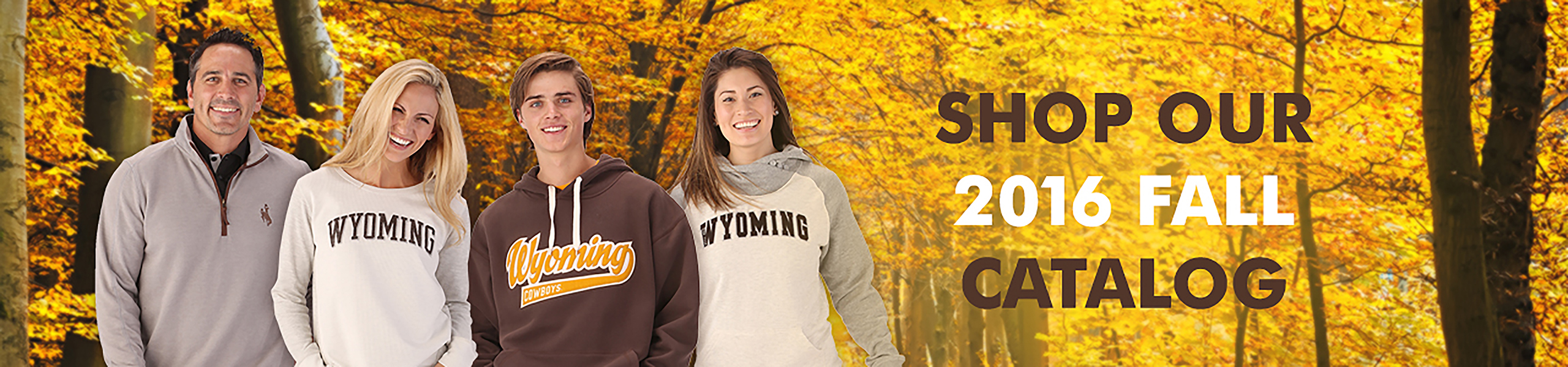 Check out our new Fall Catalog which is filled to the brim with new UW apparel!