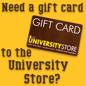 University Store Gift Cards.