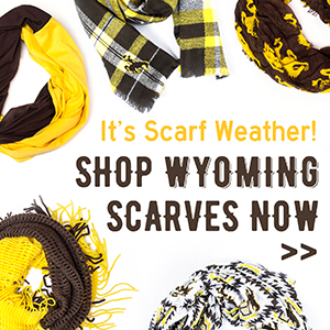 It's Scarf Weather! Shop Wyoming Scarves Now