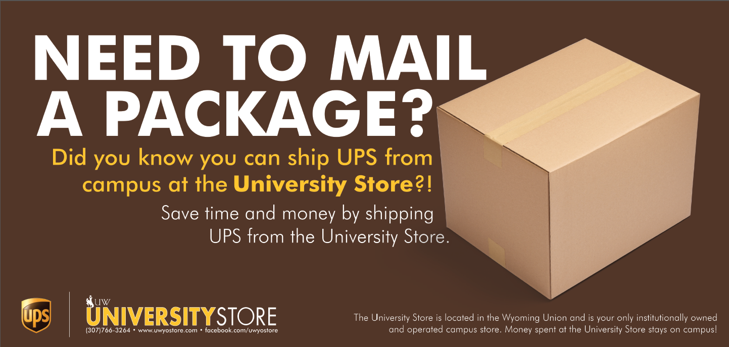 Shipping through UPS is now available right at the IDR counter.