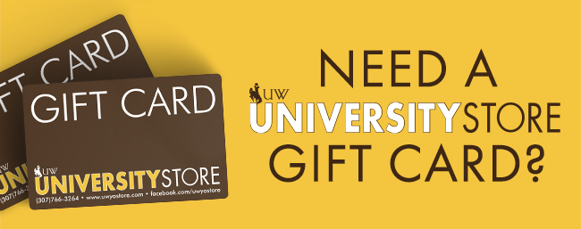 Buy a University Store gift card now!