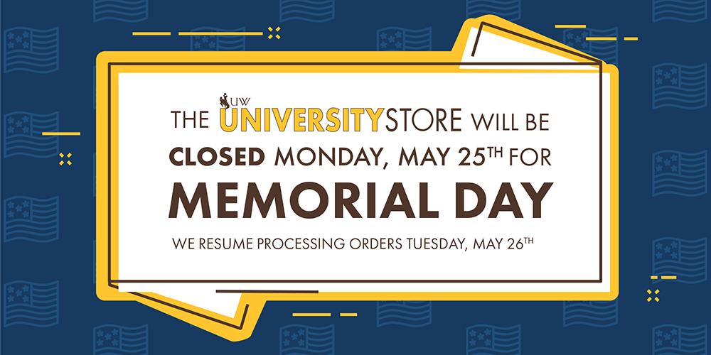 May 2020 Memorial Day Closure