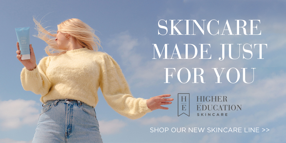 Higher Education Skincare