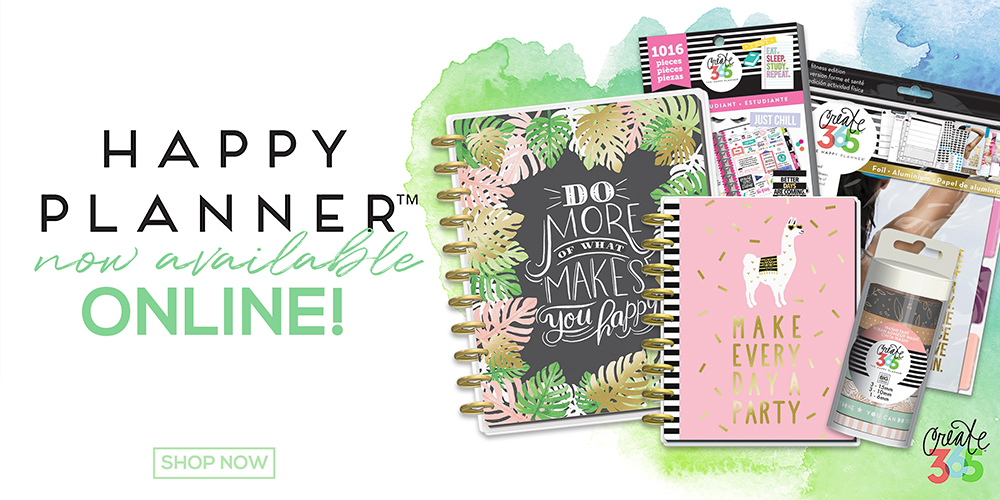 Happy Planners are now online!
