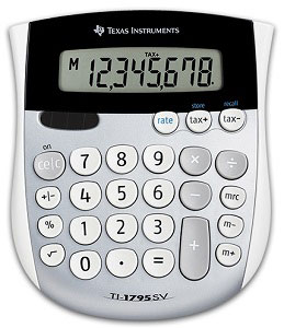 Ti-1795 Sv Calculator