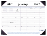 2021 All-Purpose Monthly Desk Pad Calendar