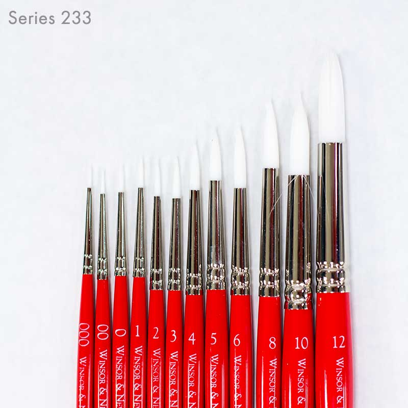 University Brushes In Assorted Sizes