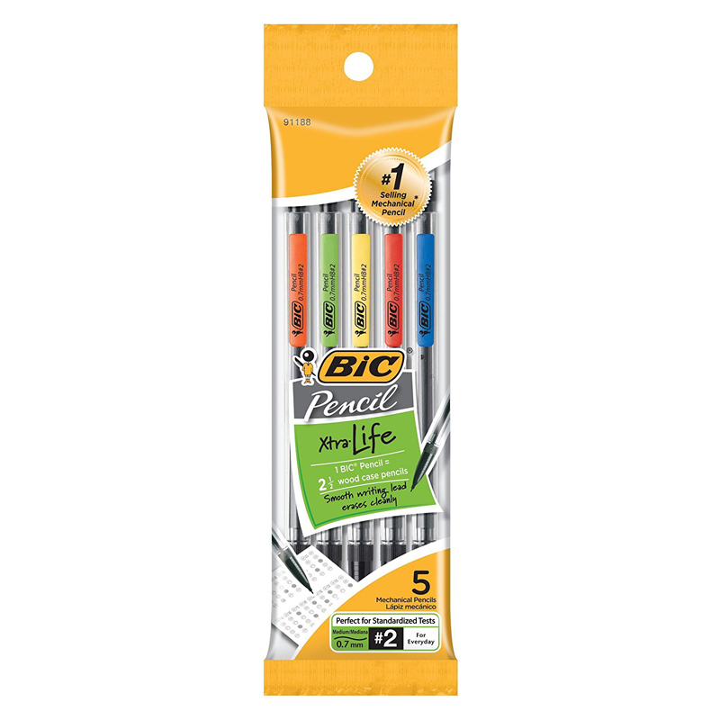 Bic® Xtra Life 0.7mm Mechanical Pencil Pack of 5