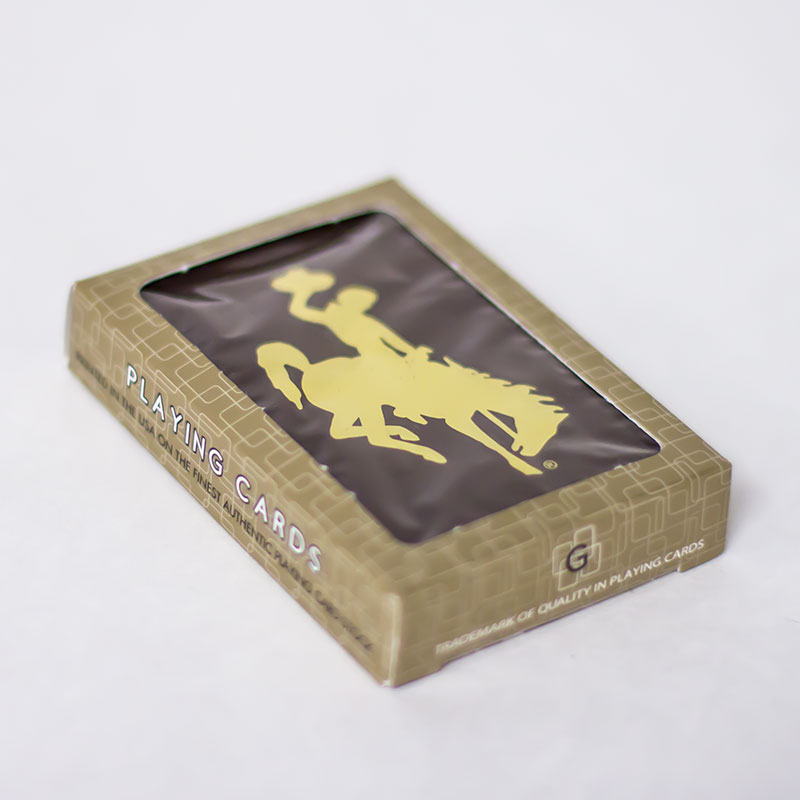 Bucking Horse Playing Cards