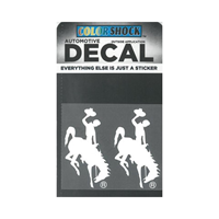 CDI Corp. Colorshock™ Bucking Horse Right Facing Small 2 Pack Decal