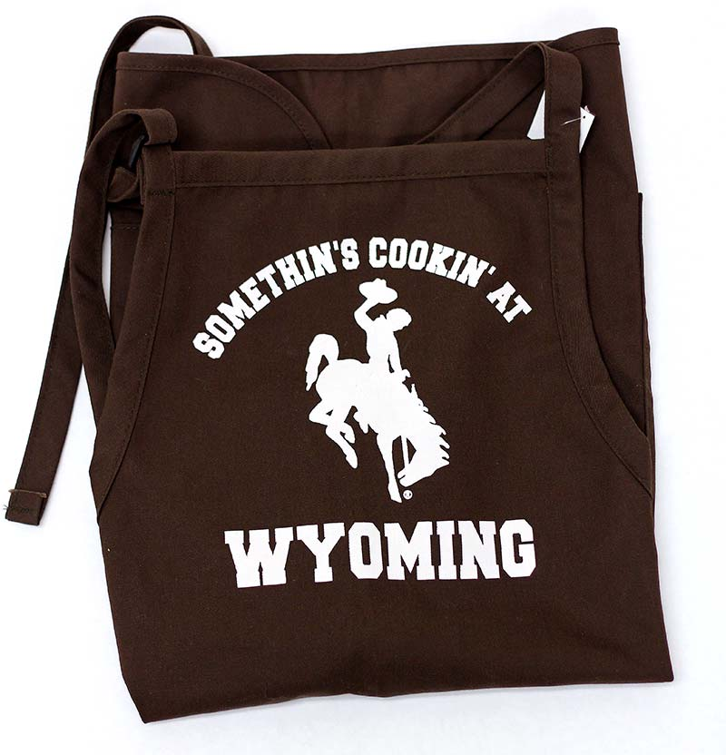 Somethin's Cookin At Wyoming Apron