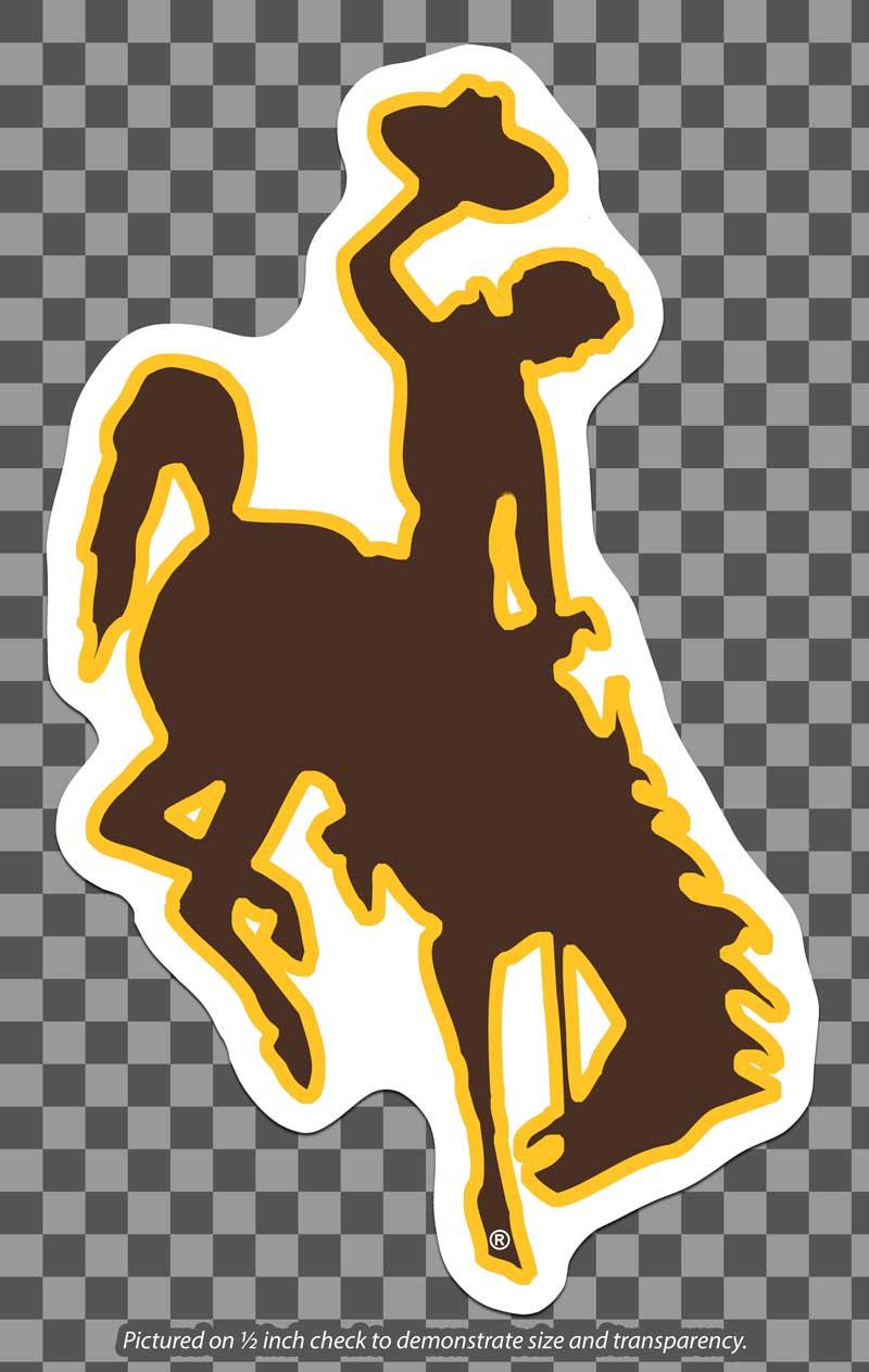 Cdi Corp Colorshock Large Bucking Horse Magnet University Store
