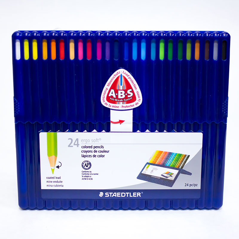 Colored Pencils Ergo Soft® 24 Pack