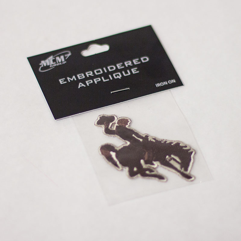 Bucking Horse Embroidered Applique