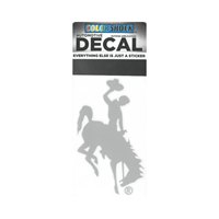 CDI Corp. Colorshock™ Bucking Horse Right Facing Etched Decal
