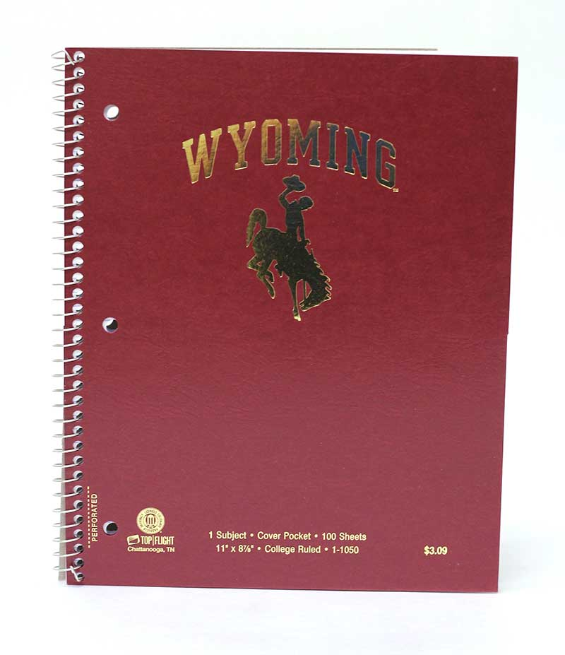 Notebook Spiral Wyoming Bh One Subject