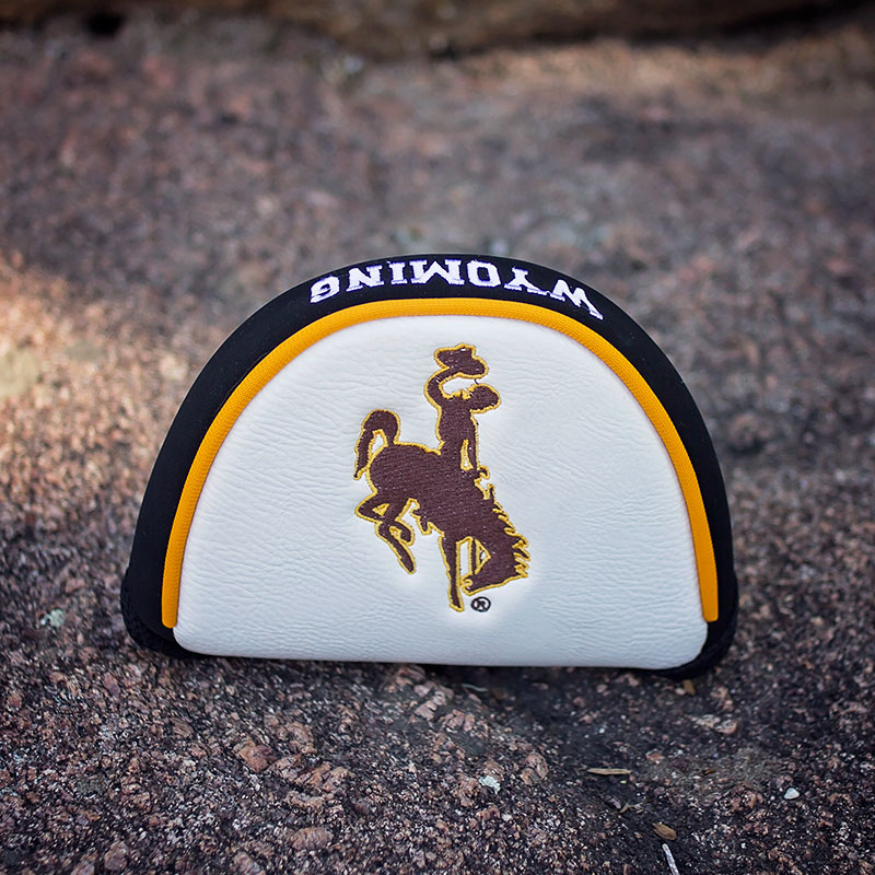 Mallet Putter Cover With Bucking Horse