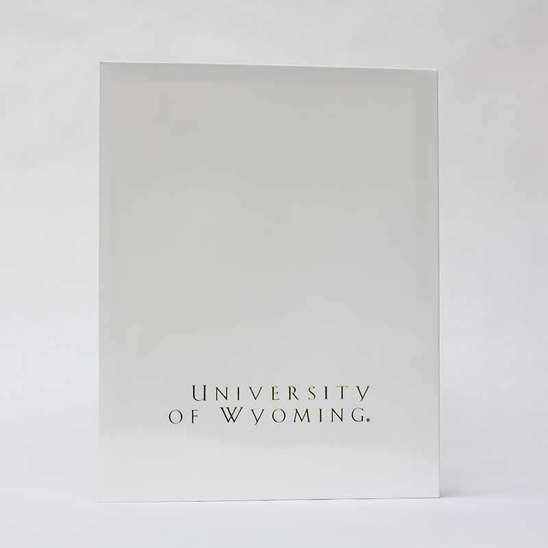 University Of Wyoming Folder