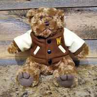 Letterman Jacket Stuffed Bear