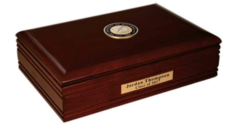 Masterpiece Desk Box With Wyoming Seal