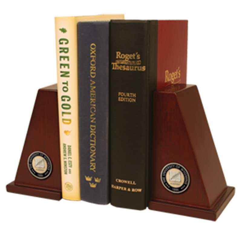Masterpiece Bookends With Wyoming Seal