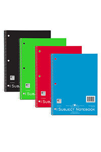 Best Value! Roaring Springs® 1 Subject Notebook