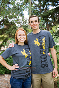 Champion® University of Wyoming Cowboys Short Sleeve Tee
