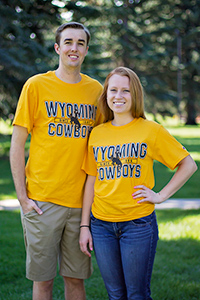 Wyoming Cowboys Est 1886 Tee