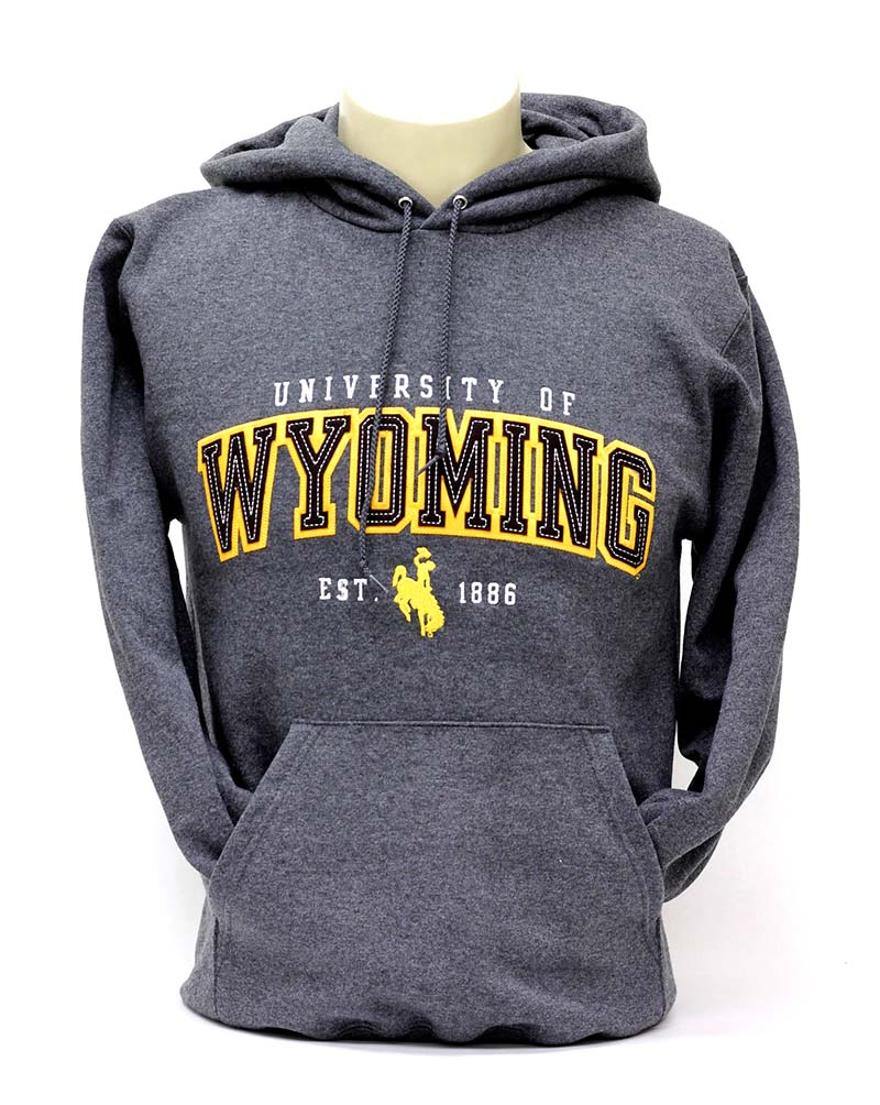 University of wyoming hoodie