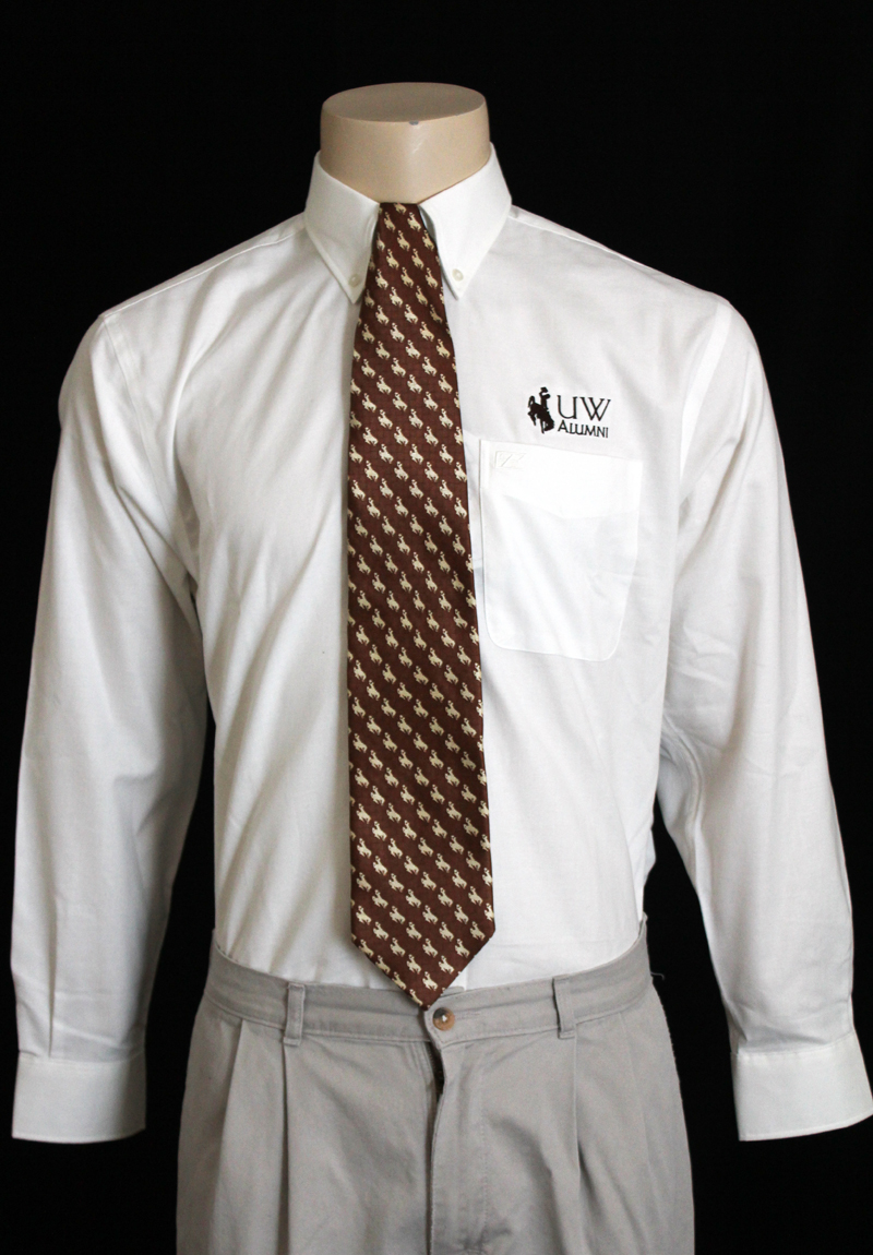 Uw Alumni Long-Sleeve Button-Up Shirt