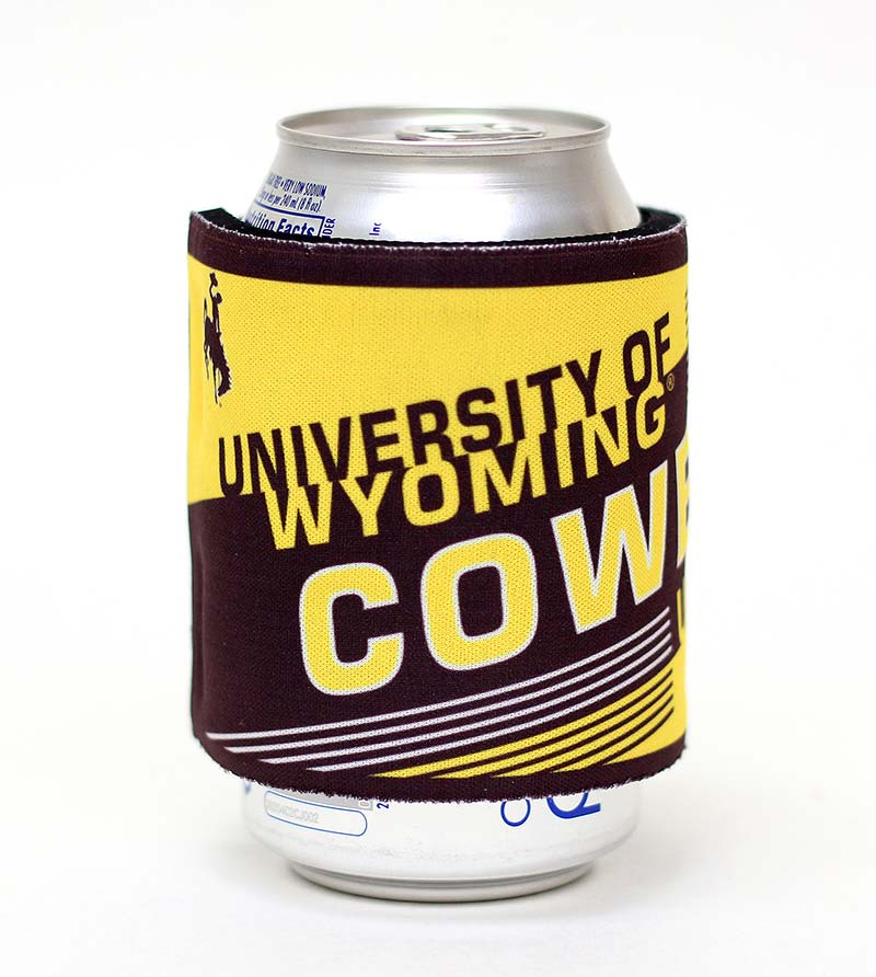 University Of Wyoming Cowboys Slap-Wrap Can Holder