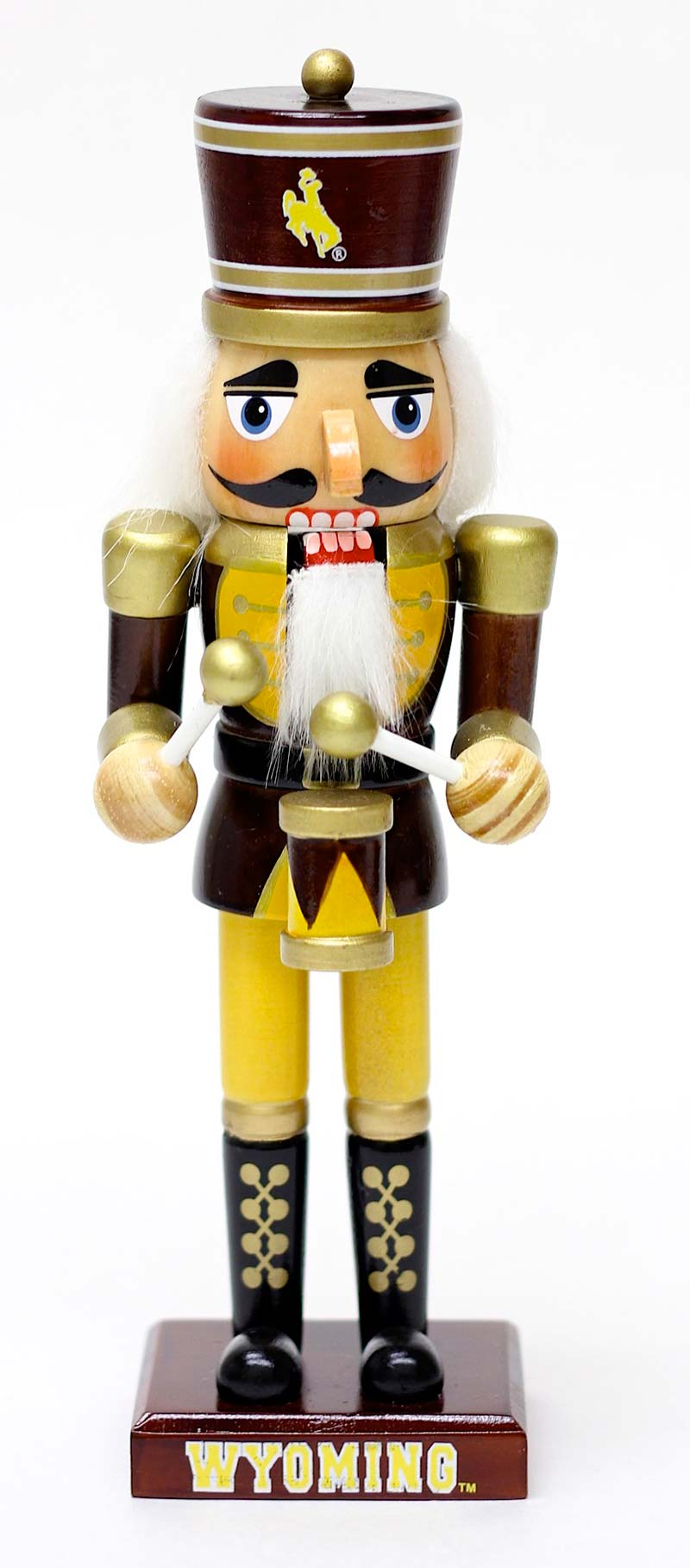 Spirit Products® Wooden Drummer Wyoming Nutcracker