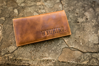 Carolina Sewn Co. Wyoming Leather Pocket Secretary