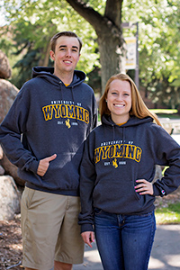 Champion® University of Wyoming Est. 1886 Hood