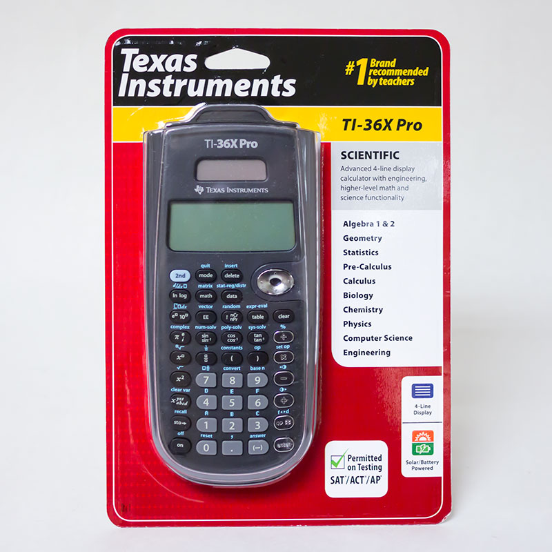 Texas Instruments® Ti-36X Pro Calculator