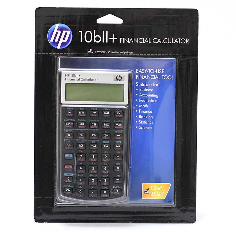 Hp10bll Plus Financial Calculator