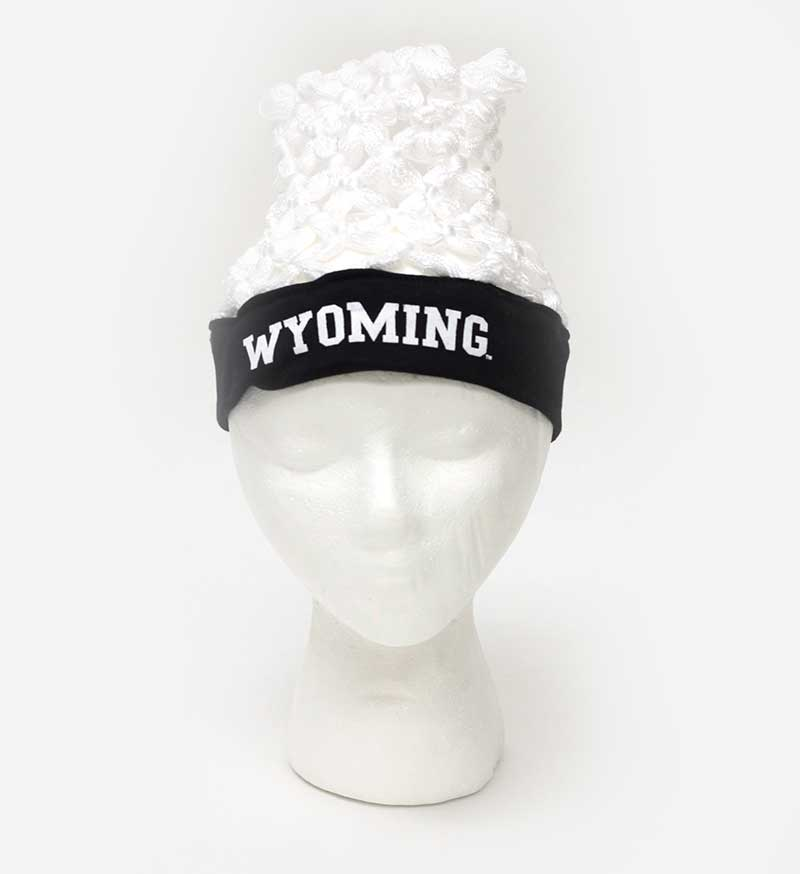 Wyoming Basketball Hoop Headwear
