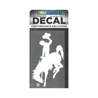 CDI Corp. Colorshock™ Bucking Horse White Left Facing Decal