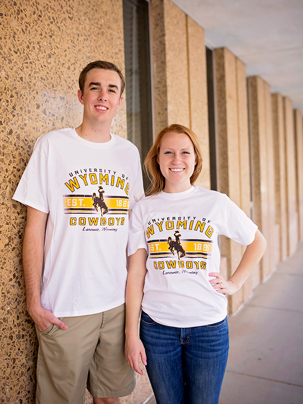 Champion® University of Wyoming Cowboys Laramie, WY Short Sleeve Tee (SKU 135204411185)