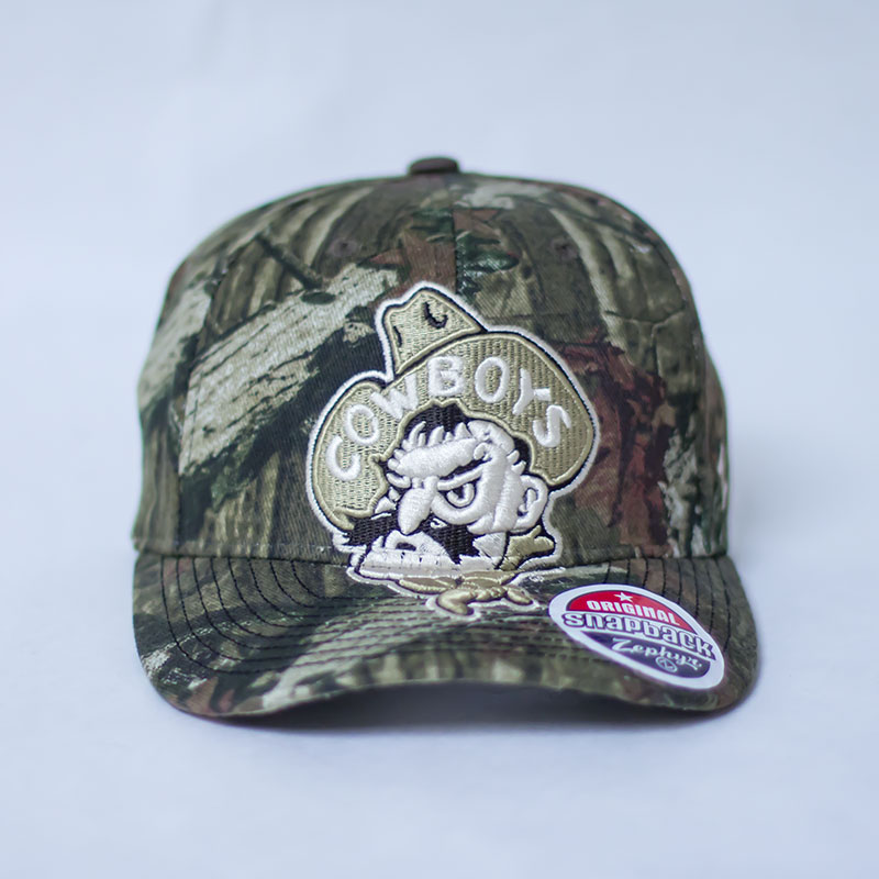Camo Menace Pistol Pete Cap
