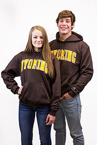 Wyoming Arch Hoodie