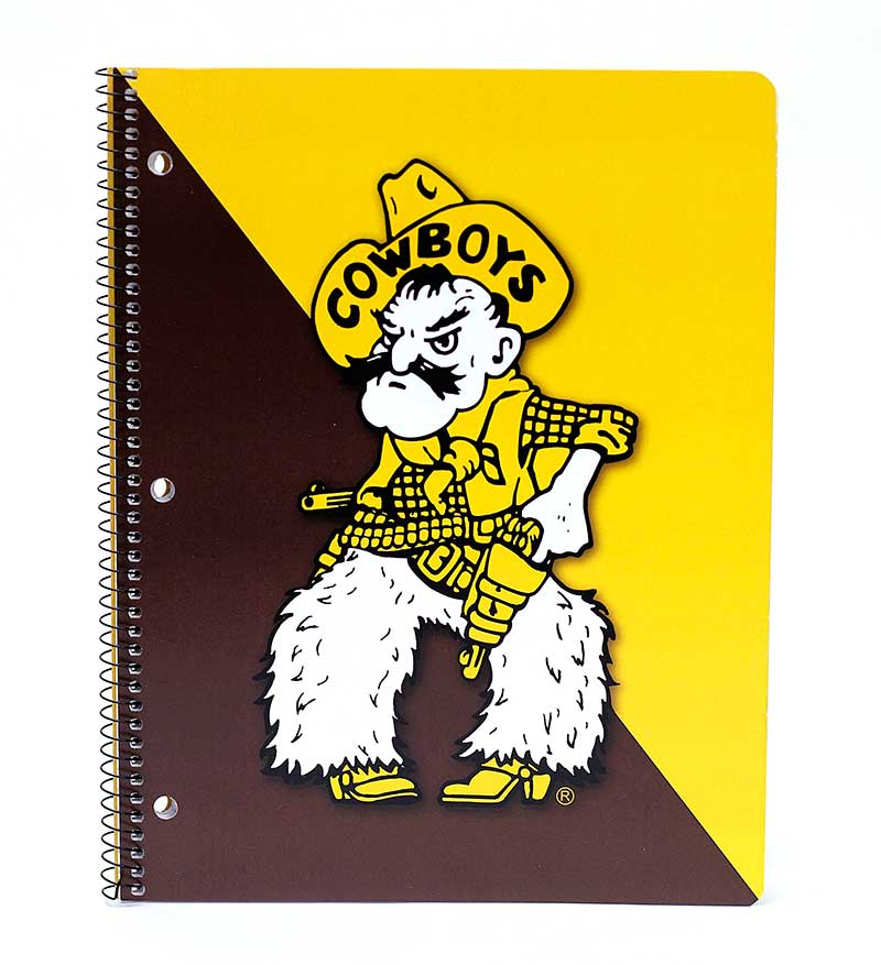 Notebook One Subject Pistol Pete