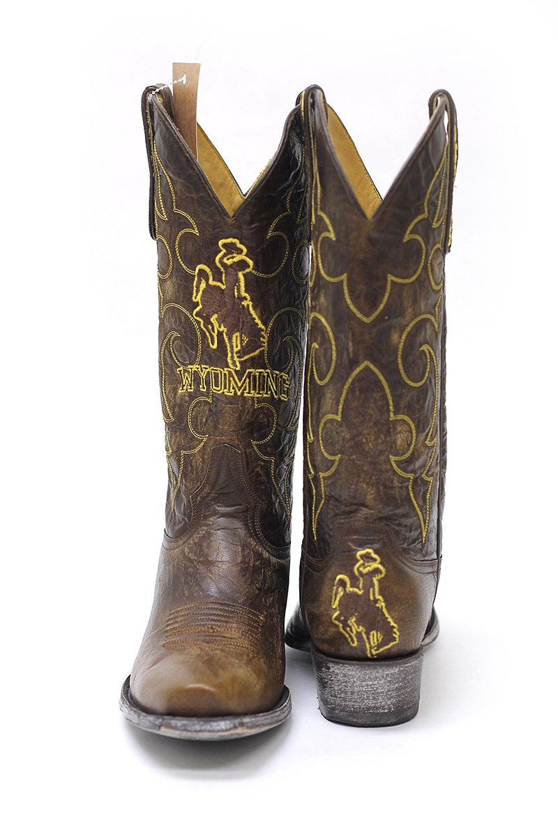Wyoming Cowboys Boots