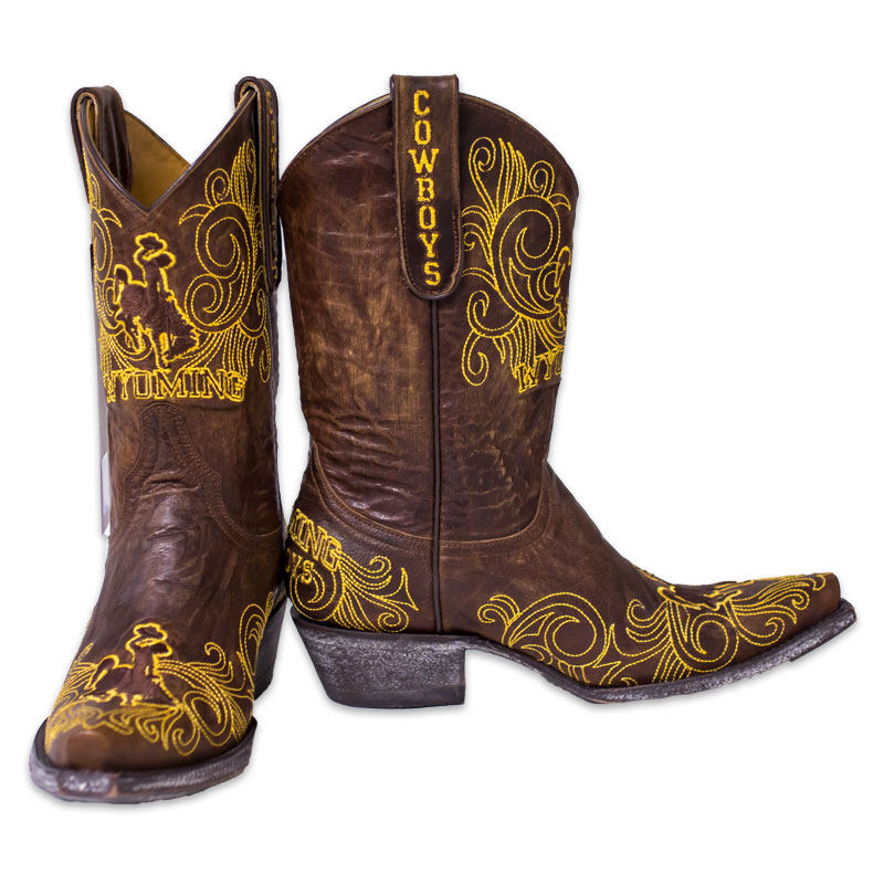 Wyoming Cowgirls Short Boots