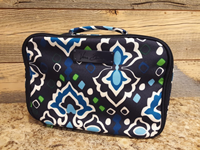 Vera Bradley Lighten Up Lunch Mate In Ink Blue