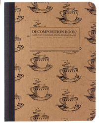 Decomposition Book Coffee Cups